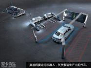 机器人搬运工 奥迪汽车工厂里的新成员