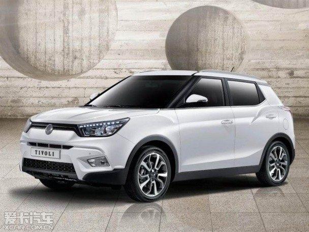 双龙Tivoli最新消息 将于上海车展亮相