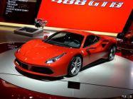 2015上海车展:法拉利新车488 GTB亮相