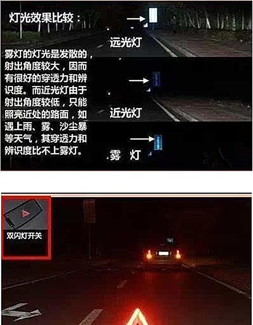 科目三灯光路边临时停车,下面一个前方路口左转应如何