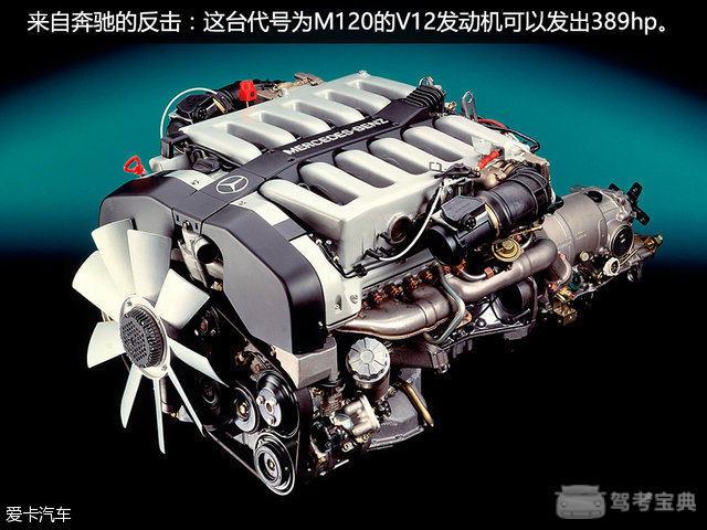 玩转12缸发动机 宝马比奔驰还早了几年