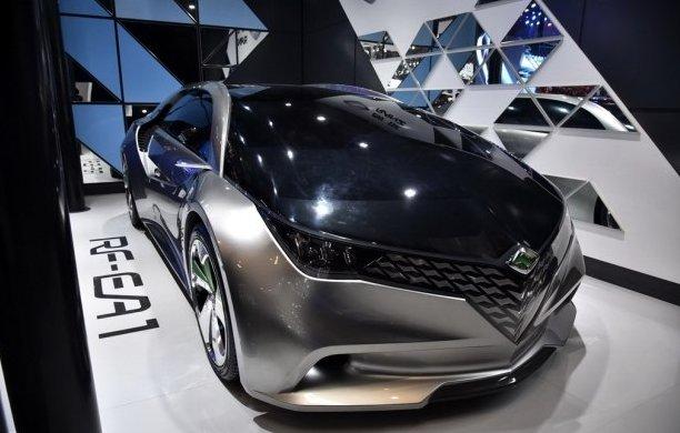 官图解读一汽丰田朗世RF-EA1概念车外观设计