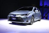全球首发 全新丰田卡罗拉三厢广州车展图解