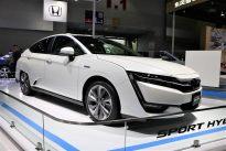 氢燃料电池黑科技 本田Clarity氢燃料电池车广州车展图解